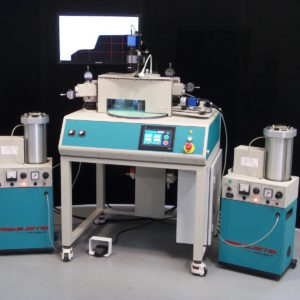 Automated Silicon Wafer Edge Beveling for B2TV   Micro Abrasive Processing using LV-1   Two Bevels - Square