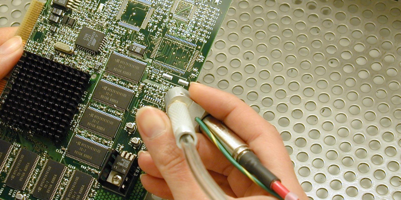 Conformal Coating Removal using Micro Abrasive Blasting
