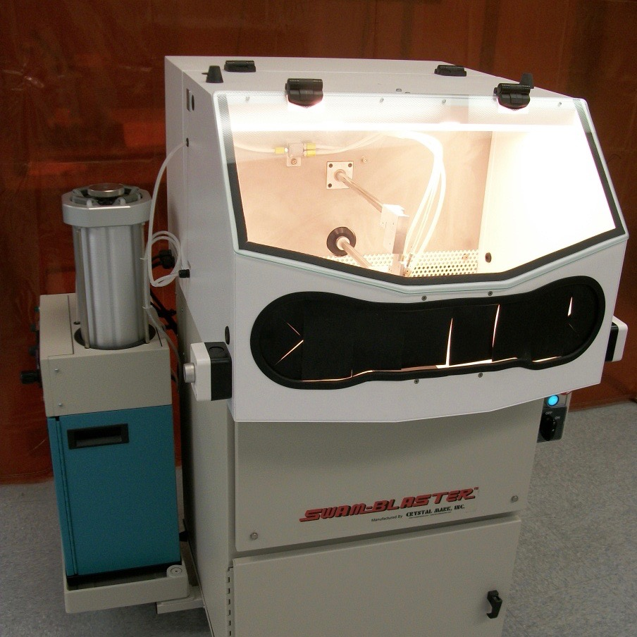 SWAM Rotary Work Cell | Single Spindle Abrader | Precision, Consistent Repeatability