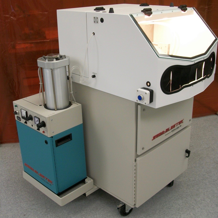 SWAM Rotary Work Cell | Single Spindle Abrader