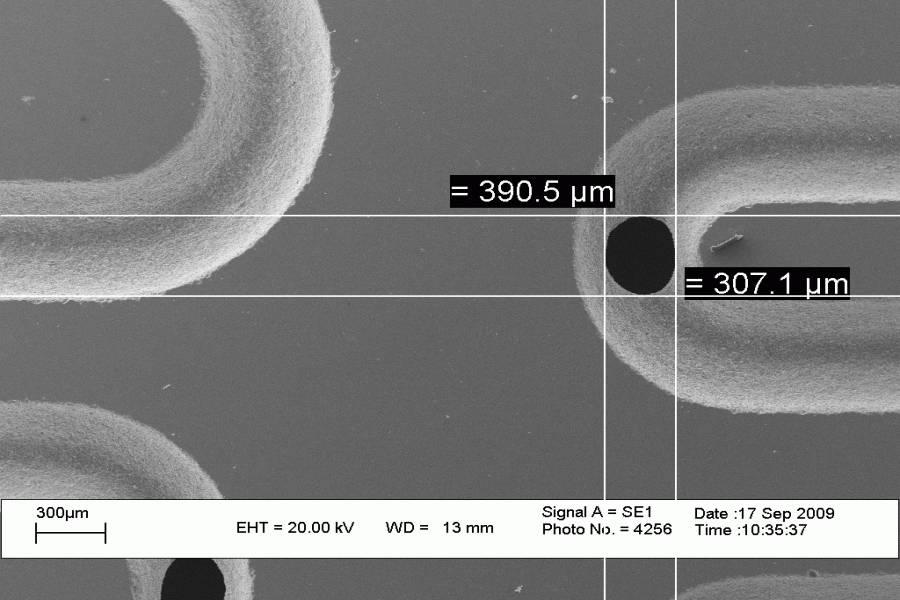 Micro Abrasive Blasting Technology for MEMS