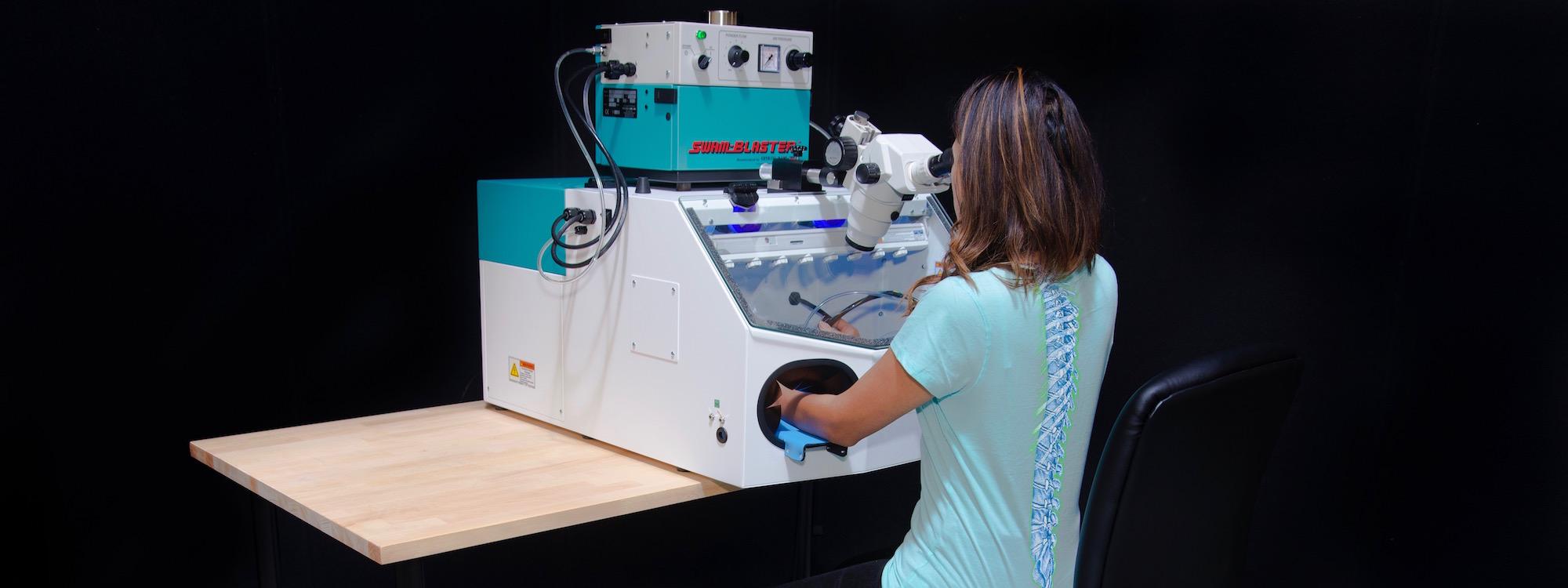 CCR-MAX-MV2L with Attached Microscope | Ergonomic Design, Control ESD