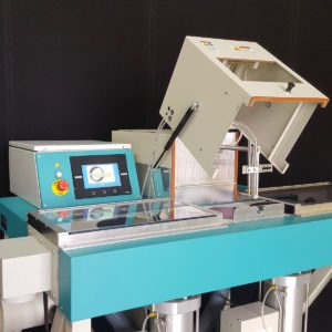 Crystal Mark Belt Abrader SWAM C129B - Variable Speed Conveyor Belt - Variable Speed Cam Driven Reciprocator Mechanism