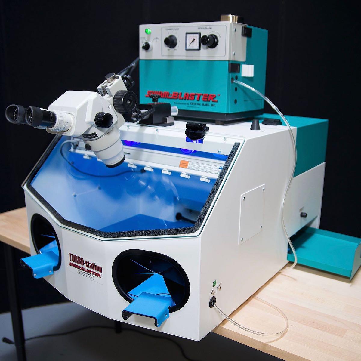 Crystal Mark Turbo MAX work chamber